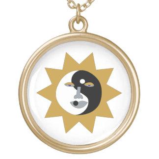 Yin Yang Sun Necklace