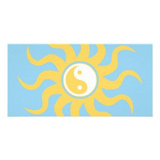 Yin yang sunshine card