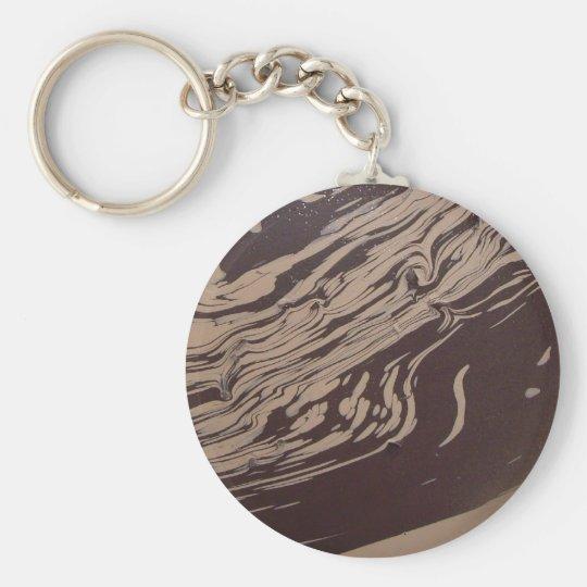 """""""Yin Yang Swirl"""" Keychain"""