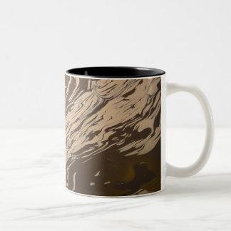 """""""Yin Yang Swirl"""" Mugs"""