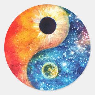 Yin Yang Stickers 100 Satisfaction Guaranteed Zazzle