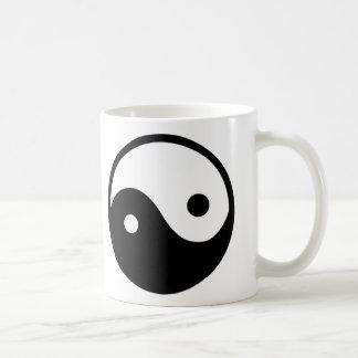 Yin Yang Symbol Coffee Mug