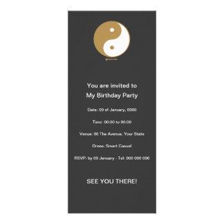 Yin Yang Symbol Personalized Invites