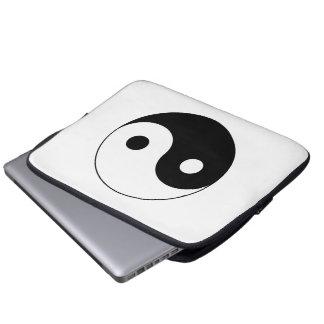 Yin / Yang Symbol Laptop Computer Sleeve