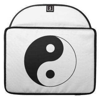 Yin / Yang Symbol Sleeves For MacBook Pro