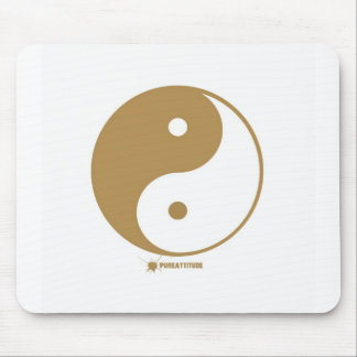 Yin Yang Symbol Mousepads