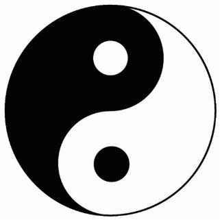 Yin / Yang Symbol Cut Out