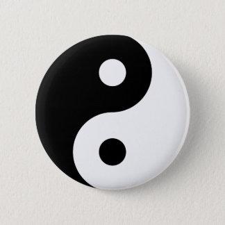 Yin Yang Symbol Pinback Button