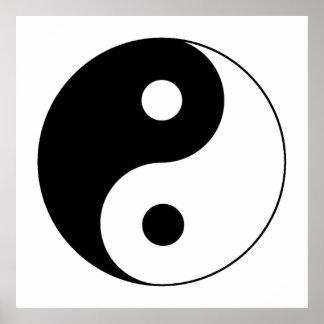 Yin / Yang Symbol Poster