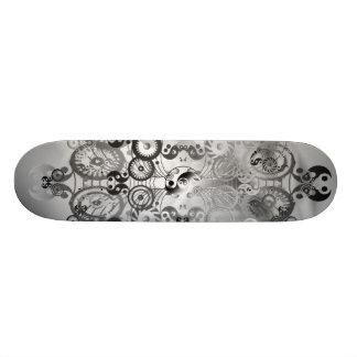 Yin yang symbol skateboard deck