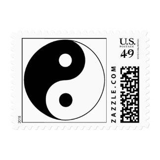 Yin / Yang Symbol Stamp