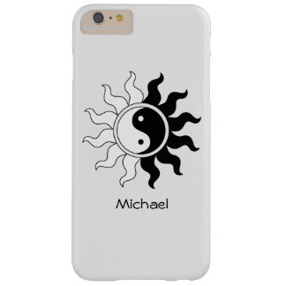 Yin Yang symbol sun Barely There iPhone 6 Plus Case