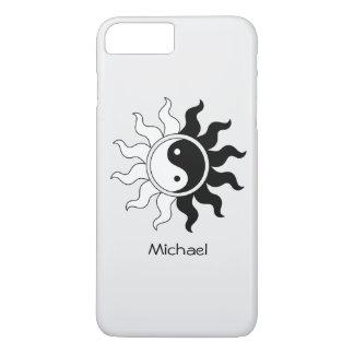 Yin Yang symbol sun iPhone 8 Plus/7 Plus Case