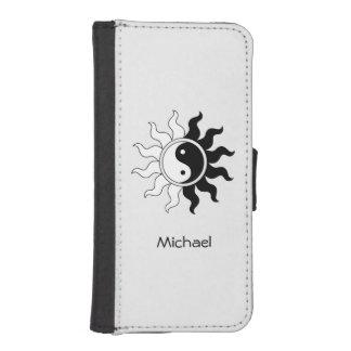 Yin Yang symbol sun iPhone SE/5/5s Wallet