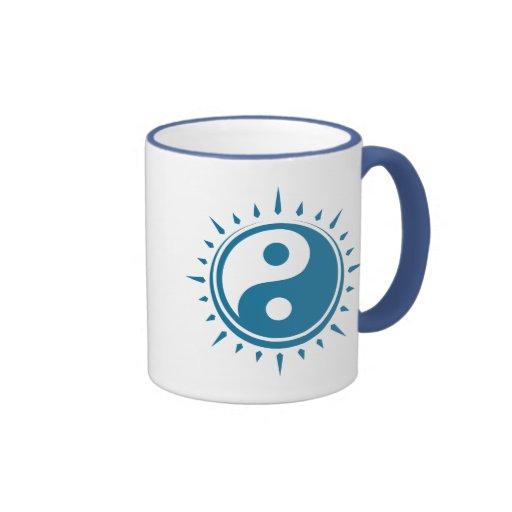 Coffee Maker Yang : Yin Yang Symbol Tea and Coffee Mug Zazzle