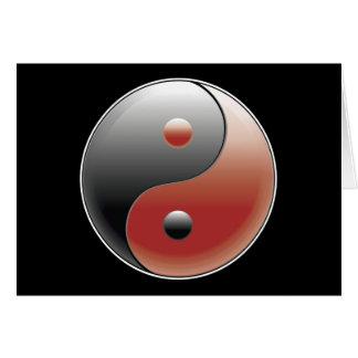 Yin Yang Symbol - Yin Yang Sign Card