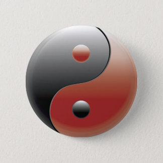 Yin Yang Symbol - Yin Yang Sign Pinback Button