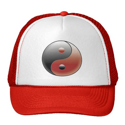 Yin Yang Symbol - Yin Yang Sign Trucker Hat