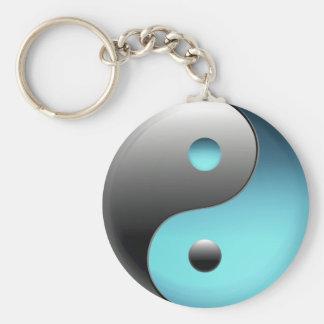 Yin Yang Symbol - Ying Yang Sign Basic Round Button Keychain
