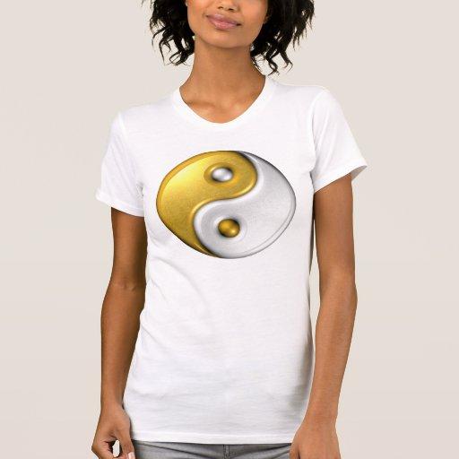 Yin-Yang /T-Shirt Casual Scoop Shirts