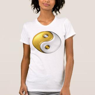 Yin-Yang /T-Shirt Casual Scoop T-Shirt