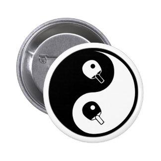 Yin Yang Table Tennis Button