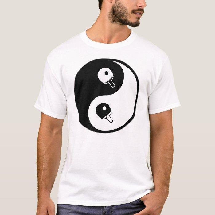 Yin Yang Table Tennis T-Shirt