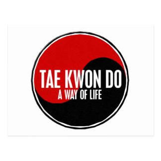 Yin Yang Tae Kwon Do 1 Postcard