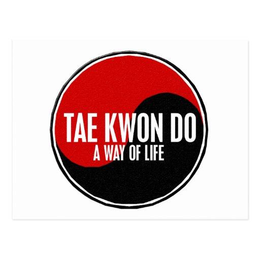Yin Yang Tae Kwon Do 1 Post Cards
