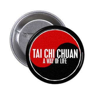 Yin Yang Tai Chi Chuan 1 2 Inch Round Button