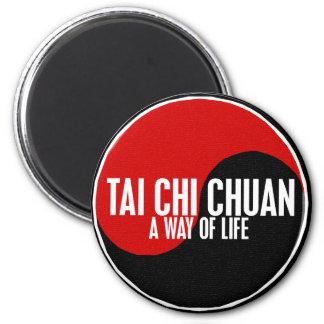 Yin Yang Tai Chi Chuan 1 2 Inch Round Magnet