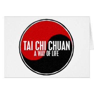 Yin Yang Tai Chi Chuan 1 Greeting Card