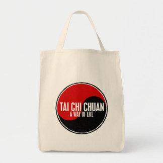 Yin Yang Tai Chi Chuan 1 Grocery Tote Bag