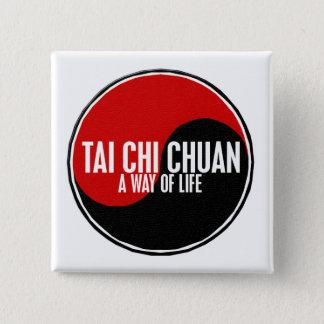 Yin Yang Tai Chi Chuan 1 Pinback Button