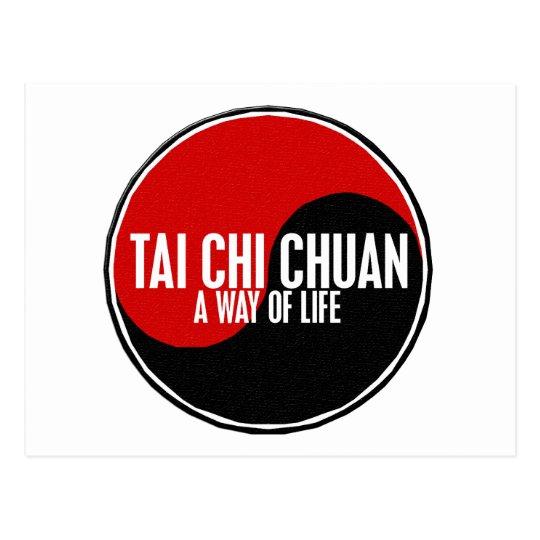 Yin Yang Tai Chi Chuan 1 Postcard