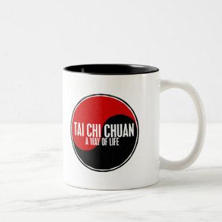 Yin Yang Tai Chi Chuan 1 Two-Tone Coffee Mug