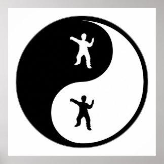 Yin Yang Tai Chi Poster