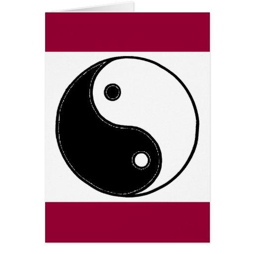 Yin Yang Tarjetón