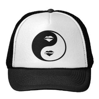 Yin Yang Tattoos Mesh Hat