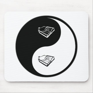 Yin Yang Teaching the Visually Impaired Mouse Mats