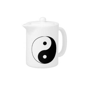 """""""Yin Yang"""" Teapot"""