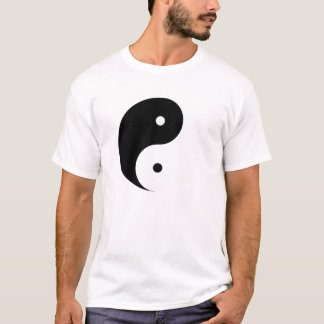 Yin Yang Tee Shirt Light Feminine Above
