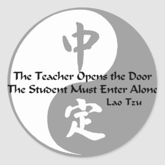 Yin Yang -  The Teacher Classic Round Sticker