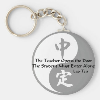 Yin Yang -  The Teacher Keychain