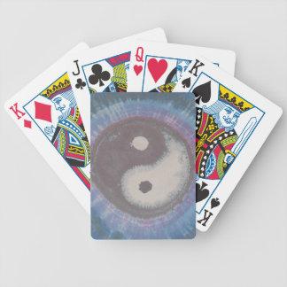 Yin Yang Tie Dye Bicycle Playing Cards