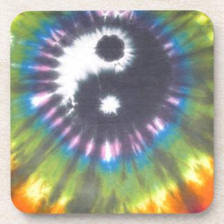 Yin Yang Tie Dye Coaster