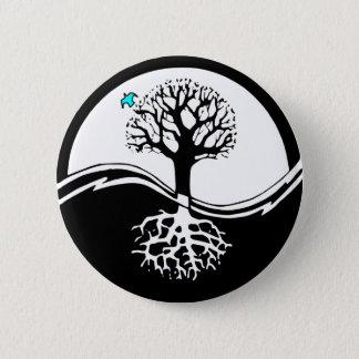 Yin Yang Tree Button