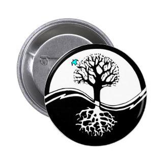 Yin Yang Tree Pins
