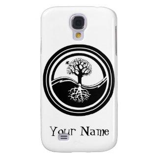 Yin Yang Tree Design iPhone Case Samsung Galaxy S4 Cover