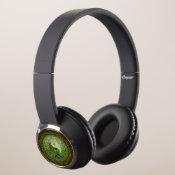 Yin Yang Tree of Life Green Headphones (<em>$52.73</em>)